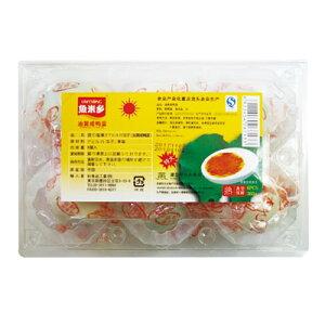 『食材』茹で塩漬けアヒルの玉子|油黄咸鴨蛋(6個・360g) 塩漬け 漬物 アヒル卵 塩ゆでアヒル卵 おかず 中国おかず 中国料理 韓国食材 中国食品\アヒルの卵に塩漬けにしたもの/マラソン