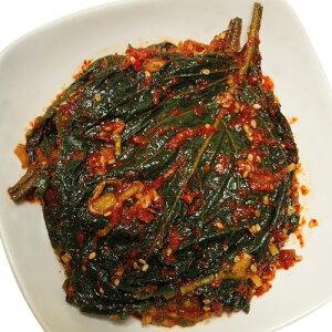 [冷凍]浅漬けえごまの葉キムチ(タレ漬け・300g)漬物 惣菜 韓国おかず 韓国キムチ 韓国料理 韓国食材 韓国食品マラソン ポイントアップ祭