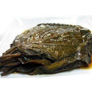 【冷蔵】『自家製』エゴマの葉キムチ・醤油漬け(500g) 漬物 おかず 惣菜 韓国おかず 韓国キムチ 韓国食品マラソン ポイントアップ祭