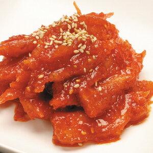 【冷蔵】『自家製』ツルニンジン辛味和え|トドク辛味和え(500g) おかず おつまみ 辛口 甘辛 和え物 惣菜 韓国おかず 韓国料理 韓国食品マラソン ポイントアップ祭