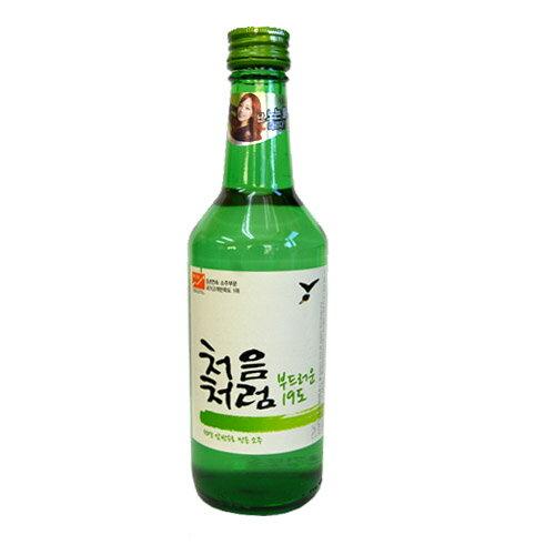 『LOTTE』初めてのように|チョウムチョロム 焼酎(360ml・アルコール20%) お酒 韓国焼酎 韓国お酒 韓国食品 マラソン ポイントアップ祭