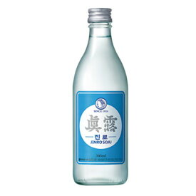 『眞露』ジンロイズベク(JINRO is back)360ml・16.9% ジンロ JINRO 韓国お酒 韓国焼酎 韓国酒 韓国食品マラソン ポイントアップ祭