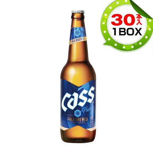 【まとめ買いがお得★1本当り324円】『OBビール』カス・フレッシュ  瓶ビール (1BOX=330mlX30本) CASS 韓国ビール 韓国お酒 韓国酒 韓国食品 ビックバン マラソン ポイントアップ祭 スーパーセール