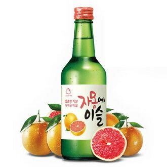 """Jinro"" JINRO jamoneysul   Soju (360 ml) ★ Grapefruit flavor liquor Korea wine Korea liquor Marathon point up Festival 05P01Oct16"