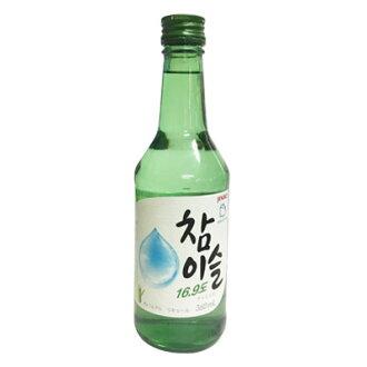 """""""真露的生產燒酒 17.8 度 (360 毫升,酒精 17.8%) 真露真露韓國燒酒韓國酒韓國食品超級出售點起節日 05P03Sep16"""