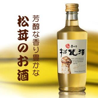 """sorureuon""自然生產松茸酒(300ml)松茸酒傳統酒韓國酒馬拉松點數提高節05P01Oct16"
