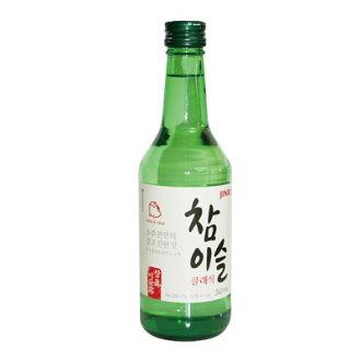"""""""真露的生產燒酒 (360 毫升,酒精 20.1%) 經典和原始真露真露韓國燒酒韓國酒韓國食品馬拉松點起節日 05P01Oct16"""