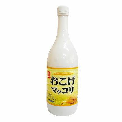 『楊州』おこげマッコリ(1000ml・PET)お酒 米酒 発酵酒 伝統酒 韓国酒 韓国お酒 韓国食品\おこげの甘味と香ばしさが、ホントに抜群です!/マラソン ポイントアップ祭