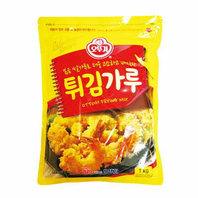 『オトギ』天ぷら粉(1kg)オットゥギ OTTOGI 天ぷら 揚げ物 サクサク オトッギ 韓国料理 韓国食材 韓国食品\サクとした天ぷらが作れます/マラソン ポイントアップ祭