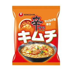 『農心』辛ラーメンキムチ(120g×1個)ノンシム NONG SHIM キムチラーメン 韓国ラーメン インスタントラーメン 韓国食品マラソン ポイントアップ祭