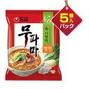 『農心』ムパマ湯麺(122g×5個入りパック)■1個当り129円ノンシム NONG SHIM 韓国ラーメン インスタントラーメン 韓国…