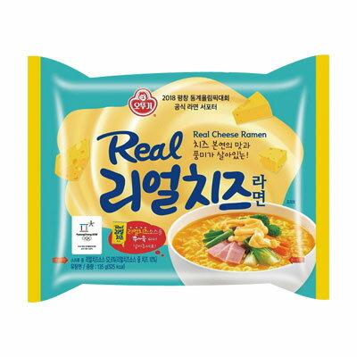 『オトギ』リアルチーズラーメン(135g・525kcal)オットゥギ 韓国ラーメン インスタントラーメン 韓国料理 韓国食品\チーズ好きにはたまらない濃厚チーズラーメン!/マラソン ポイントアップ祭