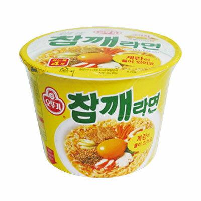 『オトギ』チャムケラーメン|ごまラーメン カップ麺(110g×1個)オトッギ 韓国ラーメン インスタントラーメン カップ麺\香ばしい麺とマイルドな辛さが絶妙なラーメン/マラソン ポイントアップ祭