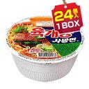 【まとめ買いがお得★1個当り114円】『農心』ユッケジャン カップ麺(1BOX=86g×24個入...
