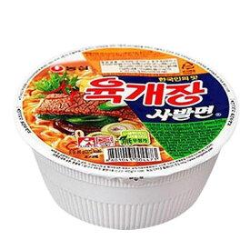 『農心』ユッケジャン カップ麺(86g) カップ麺 ノンシム NONG SHIM 韓国ラーメン ラーメン カップヌードル インスタントラーメン\コクウマユッケジャンスープをカップラーメンで/マラソン ポイントアップ祭