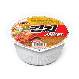 『農心』キムチ カップ麺(86g)カップラーメン ノンシム 韓国ラーメン インスタントラーメン 韓国料理 非常食 韓国食品 \やや辛くてあっさりとした味のキムチラーメン/ マラソン ポイントアップ祭
