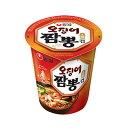 『農心』イカチャンポン カップ麺 | やや辛口(小・67g×1個)|オジンオチャンポン いか ちゃんぽん カップ麺 ノンシム 韓国ラーメン インスタントラーメン 韓国食品\イカ風味のマイルドな辛いスー