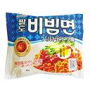 『Paldo』ビビン麺(130g)パルド 韓国ラーメン インスタントラーメン 辛い うまい 冷たい\夏にはこれ!ピリ辛のソースと麺の歯ごたえが一品/マラソン ポイントアップ祭