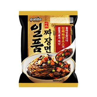 """Paldo' dish jajangmyeon [Pardo], Korea ramen instant ramen Zha Jiang noodles Chadian noodles Jayan noodles Korea food emergency food Korea food"