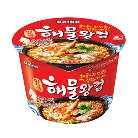 『パルド』海鮮王カップ|カップ麺(110g)Paldo カップラーメン 韓国ラーメン 海鮮 辛い うまい インスタントラーメン\海産物を使用してさっぱりしたスープを味わいます/マラソン ポイントアップ祭