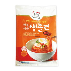 【冷蔵】『宗家』生チョル麺セット(420g・2人前) チョンガ チョル麺 汁なし麺 麺料理 韓国麺 韓国食材 韓国食品マラソン ポイントアップ祭
