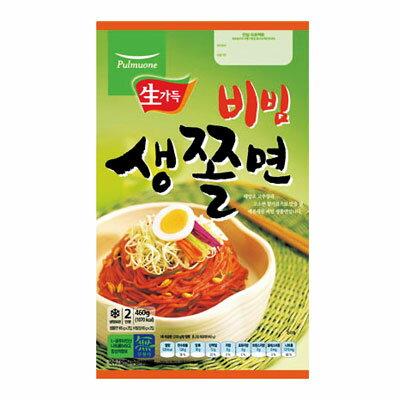 『プルムウォン』生チョル麺セット(460g・2人前)冷麺 韓国麺 韓国料理 韓国食品\つるシコ麺にちょっぴり辛めのソース/マラソン ポイントアップ祭