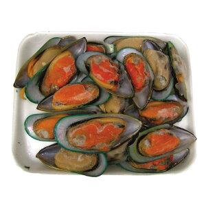 【冷凍】『海産物』パーナ貝|半皮付き(1kg)■ニュージーランド産ムール 貝 お鍋 海鮮鍋 マラソン ポイントアップ祭