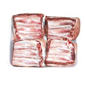 【冷凍】『豚肉類』豚カルビ・ブロック(約1kg)■チリ産豚肉 煮込み カルビ 豚カルビ 骨付きカルビ 焼肉 韓国料理マラソン ポイントアップ祭