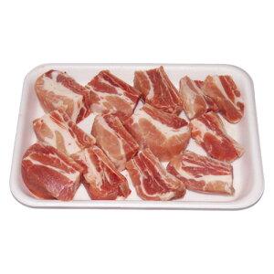 【冷凍】『豚肉類』豚カルビカット|豚スペアリブカット(1kg)■チリ産豚肉カルビ 豚カルビ 骨付きカルビ 焼肉 韓国料理マラソン ポイントアップ祭