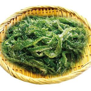 [冷蔵]『海藻類』生ワカメの芯|塩つき(1kg) ワカメ 韓国料理 韓国食材 韓国食品マラソン ポイントアップ祭