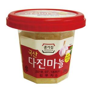 [冷蔵]『宗家』おろしにんにく(230g)■韓国産 チョンガ 韓国調味料 にんにく 生ニンニク すりニンニク 韓国食材 韓国料理 韓国食品マラソン ポイントアップ祭 スーパーセール