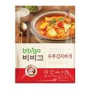 『CJ』bibigo韓飯豆腐キムチチゲ(460g・辛さ2) ビビゴ レトルト 韓国スープ 韓国鍋 韓国料理 チゲ鍋 韓国食品 \熟し…