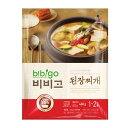 『CJ』bibigo韓飯テンジャンチゲ|味噌チゲ(460g・辛さ1) ビビゴ レトルト 韓国スープ 韓国鍋 韓国料理 チゲ鍋 韓国食…