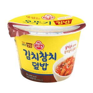 『オットギカップご飯』キムチツナ丼(280g・380kcal)OTTOGI レトルトご飯 即席ご飯 韓国食品\キムチと香ばしいツナを混ぜて食べる美味しい一食/スーパーセール ポイントアップ祭