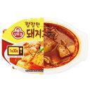 『オットギ』豚キムチチム(180g・145kcal)OTTOGI 豚肉とキムチの蒸し煮 熟成キムチ レトルト おつまみ 韓国食品\ほど…