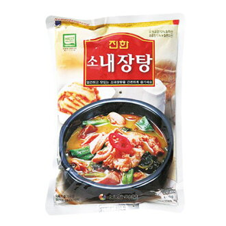 """Jin Han"" beef nejantan (600 g, spicy 2) Marathon point up Festival 05P01Oct16 [gingham], [retort] [Korea soup] [Korea pot] [Korea restaurant] [jjigae] [Korea Food]"