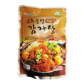 『チュプンリョン』カムジャタン 豚の背骨とジャガイモを煮こんだ鍋料理(700g)秋風嶺 レトルト 韓国スープ 韓国鍋 チゲ鍋\韓国ではスタミナ料理として人気のお鍋料理/マラソン ポイントアップ祭 スーパーセール