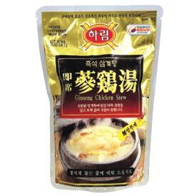 【冷凍】『ハリム』半熟参鶏湯 サムゲタン(800g)サンゲタン 韓国料理 レトルト 韓国食品スーパーセール ポイントアップ祭 マラソン