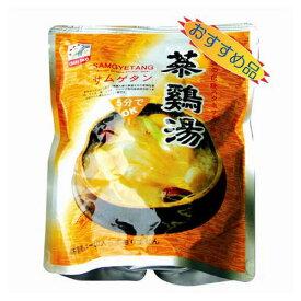 『ファイン』参鶏湯|サムゲタン(800g) レトルト お粥 韓国料理 韓国食品\栄養たっぷり健康フード鶏肉スープ!/マラソン ポイントアップ祭 スーパーセール