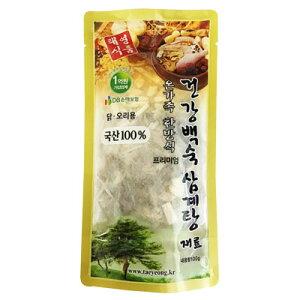 『テヨン食品』参鶏湯用漢方材料(100g・ティーパック、約3〜4人前) 韓国産100%材料 サムゲタン サムゲタン材料 参鶏湯材料 韓国食材 韓国料理 韓国食品マラソン ポイントアップ祭