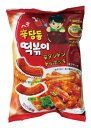 『ヘテ』辛ダンドントッポキ(75g)甘辛 シンダンドン トッポギ スナック 韓国お菓子 韓国食品\シンダンドントッポキの…