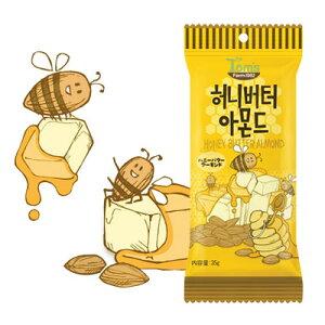 『Tom's farm』ハ二ーバターアーモンド(35g) ナッツ ハ二−バタ−味 おつまみ 韓国お菓子 韓国食品マラソン ポイントアップ祭 スーパーセール