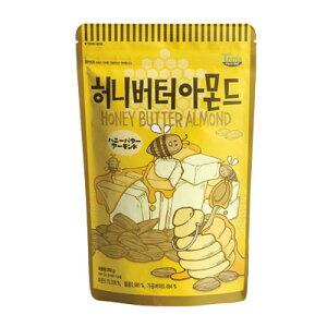 『Tom's farm』ハ二ーバターアーモンド(250g) ナッツ ハ二−バタ−味 おつまみ 韓国お菓子 韓国食品マラソン ポイントアップ祭 スーパーセール