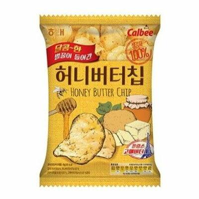 『ヘテ』ハニーバターチップ|ポテトチップ(60g)スイートポテト スナック 韓国お菓子 \ザクザクとした食感とハニーバターの味のポテトチップス/マラソン ポイントアップ祭
