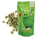 【期間限定SALE 19%OFF】『グリーンナッツ』アングリーバード 緑茶ラテ味アーモンド(180g)Green Nutシーズニングアー…