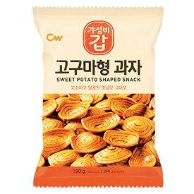 ★パッケージ変更と容量増加★ 『CW』さつまいも形お菓子(190g) スナック 韓国お菓子 韓国食品マラソン ポイントアップ祭