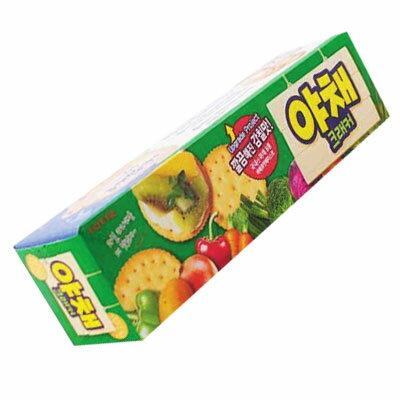 『LOTTE』野菜クラッカー(83g)ロッテ スナック 韓国お菓子\淡泊なジャガイモと100%韓国産野菜8種使用!/マラソン ポイントアップ祭