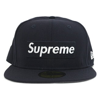 Supreme×new ERA / Supreme x new era R. I. P. Box Logo Cap / RIP box logo Cap Navy / Navy 2016 AW FW domestic genuine tagged Nos new old stock