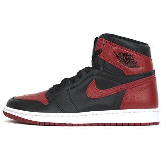 hot sale online 2ab8c 2b357 2016 the country genuine NIKE AIR JORDAN 1 RETRO OG BRED BANNED / Nike Air  Jordan 1 retro bread Bernd BLACK/VARSITY RED-WHITE / black/Varsity red - ...