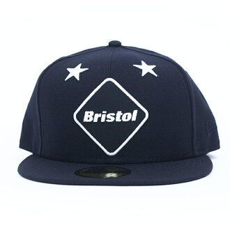 7a186e2913e5 F. C. R. B. x NEW ERA   evseyrealbristol x new era 59FIFTY CAP EMBLEM of  the STAR   Star emblem Cap NAVY   Navy 16 AW domestic genuine FCRB SOPH.